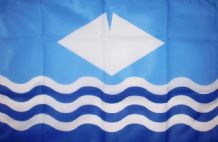 "ISLE OF WIGHT - 18"" X 12"" FLAG"
